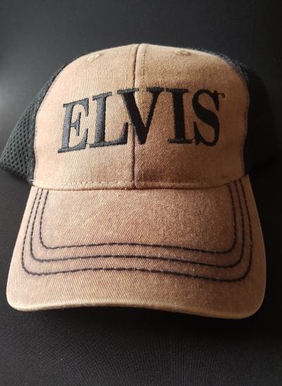 Elvis Kappe braun/schwarz