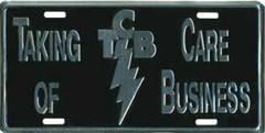 Auto-Schild TCB