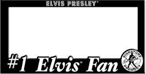 Elvis Autoschild-Halterung