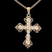 Elvis' Email-Kreuz,    18 K vergoldet