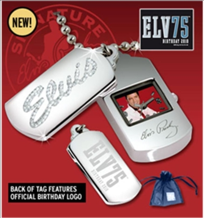 TCB Dogtag Kette Strass