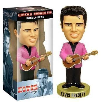 Wackelkopf-Figur Elvis mit Gitarre