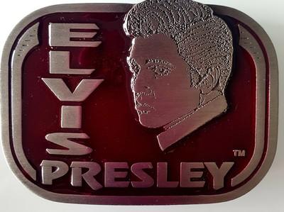 Gürtelschnalle Elvis Face