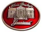 Gürtelschnalle Graceland rot