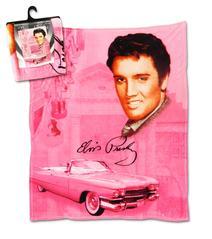 Fleece-Decke Pink