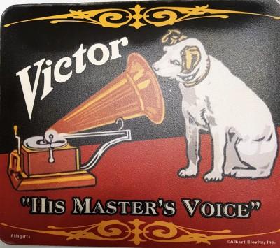 Mausmatte RCA Label