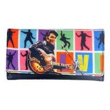 Elvis Portemonnaie Bunte Bilder 1968
