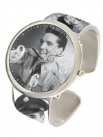 Elvis Bangle Uhr , Army s/w, von Bellagio
