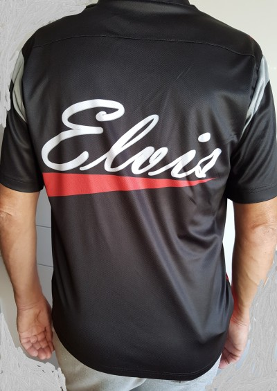 Elvis Sport Hemd (Logo hinten)