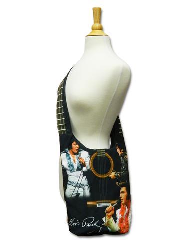 Stoffbeuteltasche Elvis & Gitarre