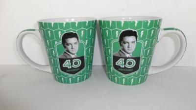Tasse, grün 40th