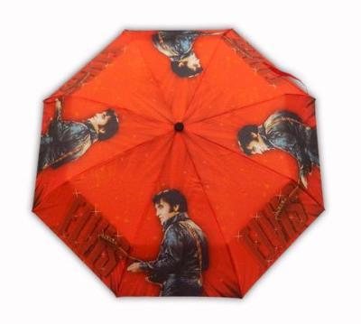 Taschen-Regenschirm rot 1968