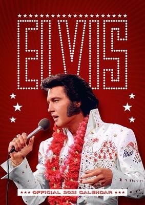 Elvis A3 Wandkalender 2021