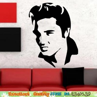 Wand-Aufkleber Elvis-Kopf