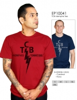 TCB-T-Shirt, rot, Gr. s