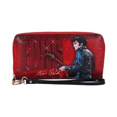 Elvis Portemonnaie 1968 rot