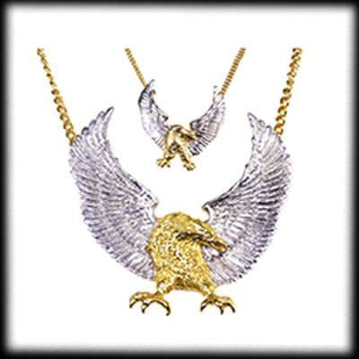 Eagle-Anhänger, klein