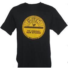 T-Shirt schwarz , Sun-Studio-Logo XL
