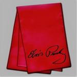 Elvis Schal , rot