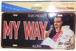 "Auto-Schild ""My Way"""