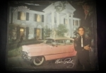 Elvis Blech Schild Graceland Caddy gross
