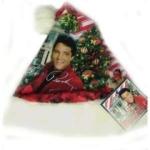 Elvis Santa Klaus Kappe Graceland