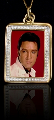 Elvis-Foto-Frame red