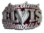 Gürtelschnalle Elvis-Graceland-Memories
