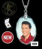 "Elvis-Kristall-Anhänger, ""Hollywood 60ies"""