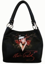 Purse Tasche Elvis Biker