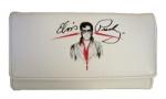 Elvis Portemonnaie weiss mit Brille