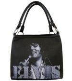 Purse Tasche Elvis 1971 s/w