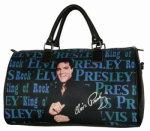 Elvis-Reise-Tasche blau