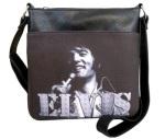 Umhängetasche Elvis 1971 s/w