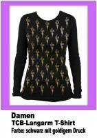 TCB Langarm T-Shirt , Damen Gr. XL
