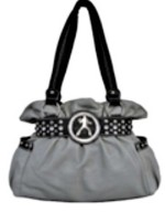 Elvis Silhouette Handbag grey