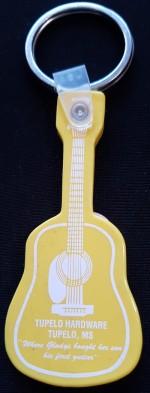 Schlüsselanhänger Gitarre Tupelo Plastic