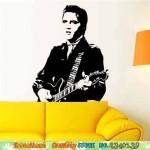 Wand-Aufkleber Elvis-1968
