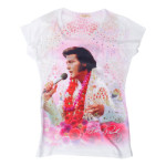Elvis Aloha rundum T-Shirt
