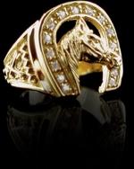 Horseshoe-Ring