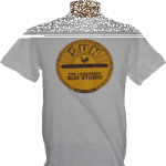 T-Shirt, Sun-Studio-Logo, weiss Gr.XL