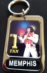 Schlüsselanhänger No1 Fan Memphis